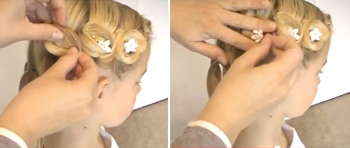 прическа на 1 сентября для коротких волос