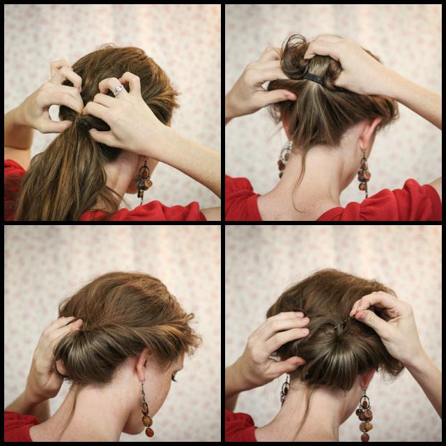 Легкая причёска своими руками в домашних условиях