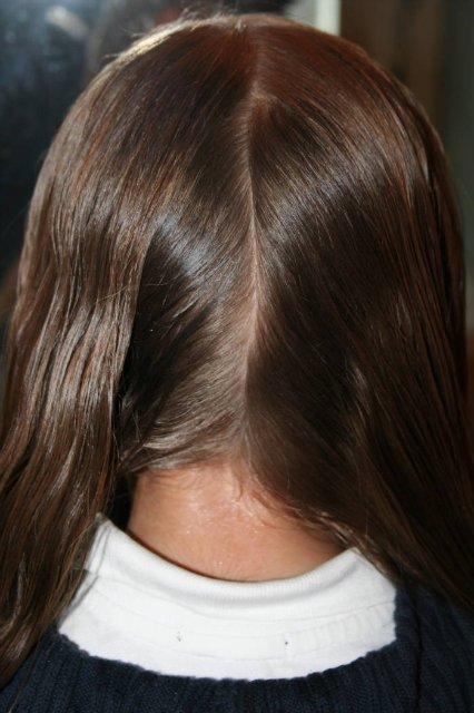Красивая лёгкая причёска в школу.