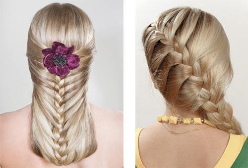 французская коса, как ее