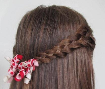 Фото на тему прически для девочек с длиными волосами.