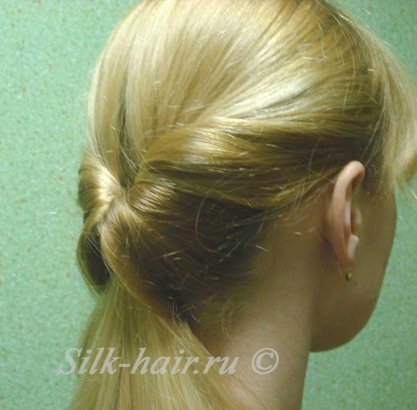 Как сделать прическу для тонких волос в домашних условиях.  Да, представьте себе, красивая объёмная причёска возможна...