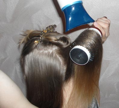 укладка тонких волос для объема, как красиво заколоть волосы