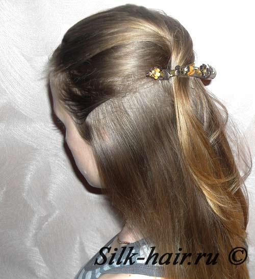 объемная прическа для тонких волос, как красиво заколоть волосы