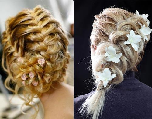 Лгкие и красивые косы со схемами.