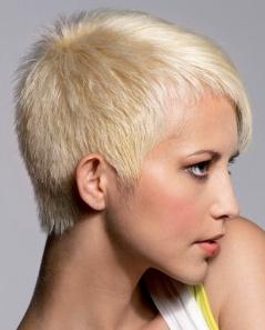 ультракороткая стрижка на густые волосы
