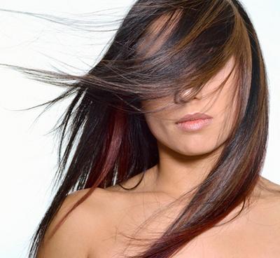 Волосы абсолютно прямые волосы можно