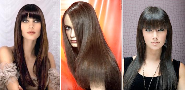 Стрижка две длины на длинные волосы фото