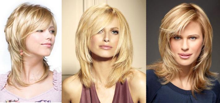 стрижки в 2016 году для женщин на среднюю длину волос