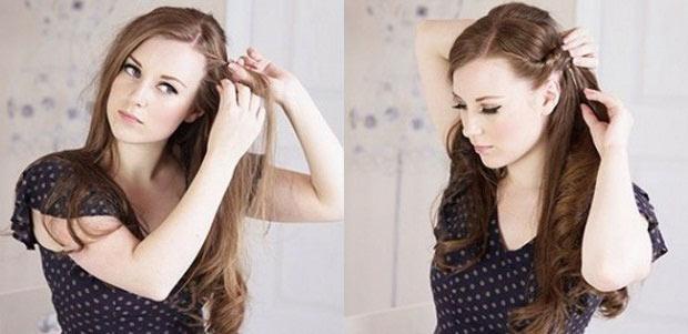 Укладка на средние волосы: 20 фото