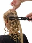 Что такое укладка волос щипцами фото