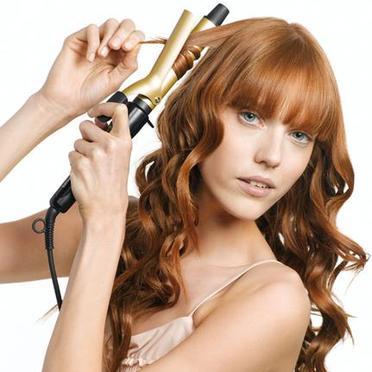 Как завить волосы щипцами и создать